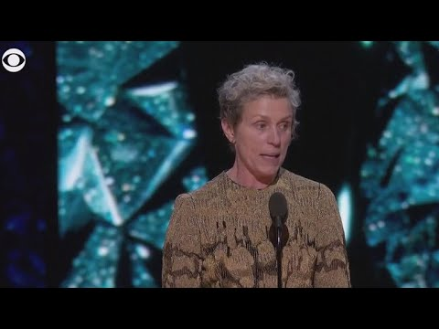 These 2 Words in Frances McDormand's Oscars Speech Could Actually Change Hollywood