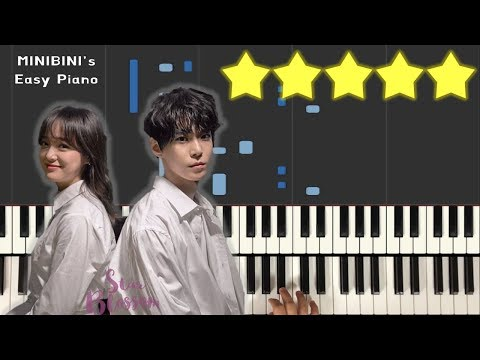 Star Blossom (별빛이 피면) - Doyoung X Sejeong 《MINIBINI EASY PIANO ♪》 ★★★★★