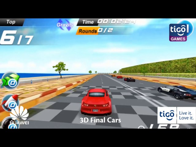 Cheza 3D Final Cars Sasa kwenye Tigo Games!