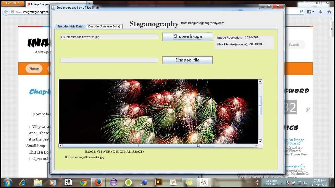 STEGANOGRAPHY JAVA PDF