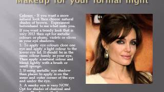makeup for your formal the makeup trends for 2013 Thumbnail