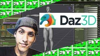 DAZ Studio PRO 4.9 2017 + Ativação