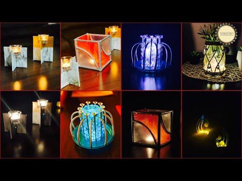 5 Super Unique Room Decor With Lights| gadac diy| Craft ideas| diy decor| home decorating ideas
