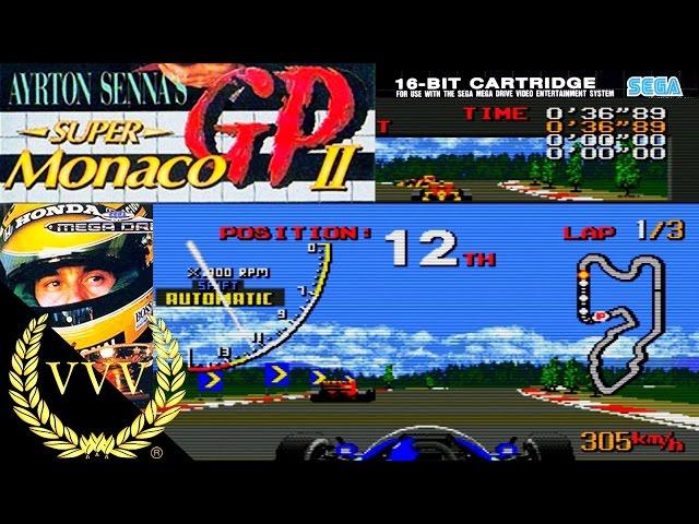 Ayrton Senna's Super Monaco GP 2 Sega Megadrive