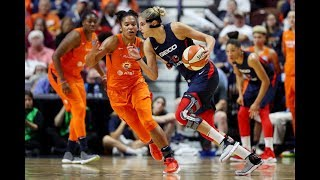 Mystics and Sun Trade Buckets in Thrilling Finals Game 4 Fourth Quarter