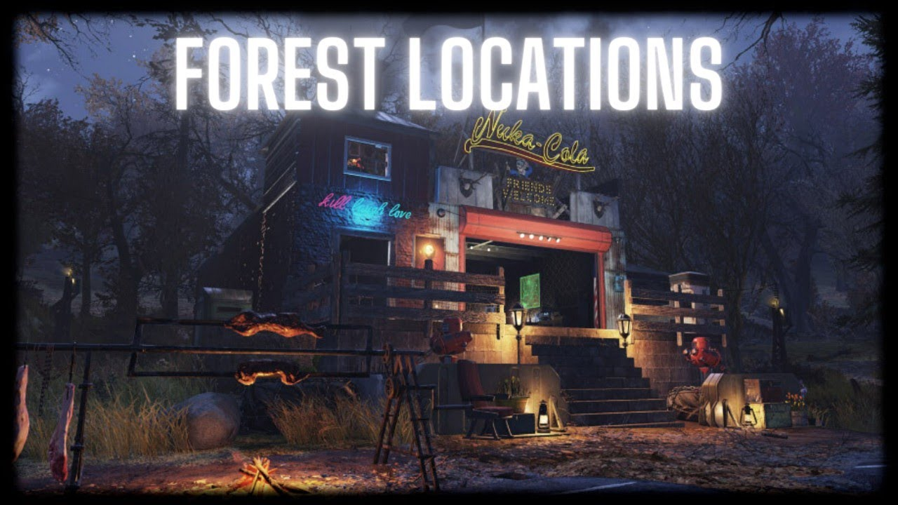 Fallout 76 Best Camp Locations