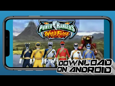 How To Download Power Rangers Wild Force On Android (HINDI) Video | Something New India