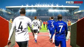 Chelsea vs Fulham - Premier League - PES 2019