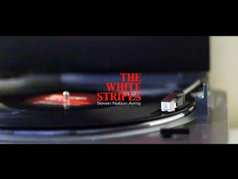 The White Stripes - Seven Nation Army - Vinyl RIP - YouTube