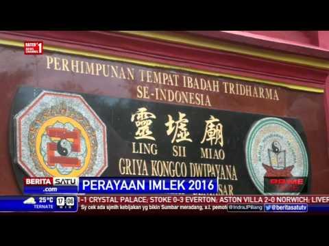 Perayaan Imlek di Palembang dan Pulau Dewata