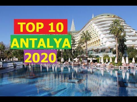 TOP 10 BEST 5 STAR HOTELS ANTALYA TURKEY 2020