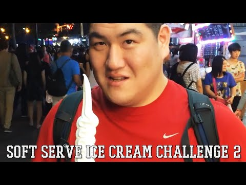SOFT SERVE ICE CREAM CHALLENGE 2