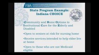 Financial Assistance for Elder Care
