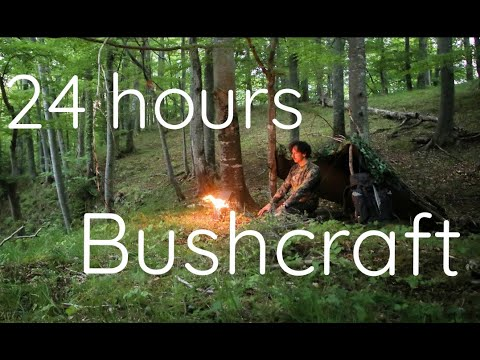 24 h Waldbiwak | Overnighter | Bushcraft