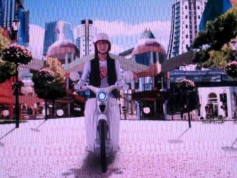 Ra mắt xe máy điện Honda EV-cub