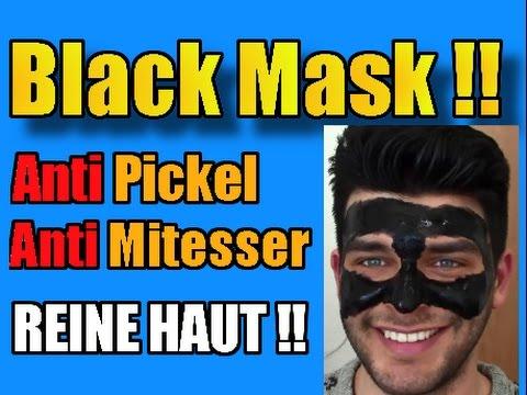 schwarze maske black mask mitesser akne pickel. Black Bedroom Furniture Sets. Home Design Ideas