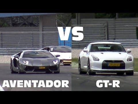 Supercars DRAG RACE Shootout - Nissan GTR, Aventador, C63S, Hellcat, Z06