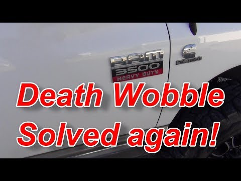 Dodge Jeep Scary Steering Play and Correction Death Wobble