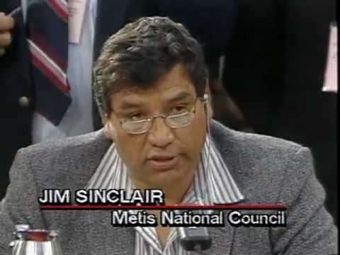 The late Jim Sinclair. His fight has some closure with the recent court ruling.