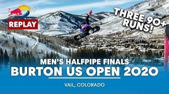 Men's Halfpipe Finals | Burton US Open 2020 - FULL REPLAY
