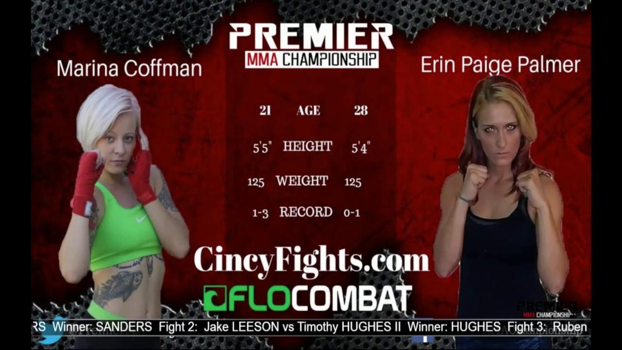Premier MMA Championship 5 Marina Coffman vs Erin Paige Palmer