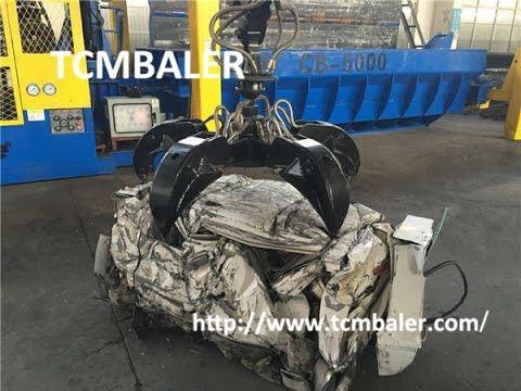TCM BALER- waste cars baling press machine Austria  Botswana Faroe Islands