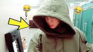 BTS PARK JIMIN being weird