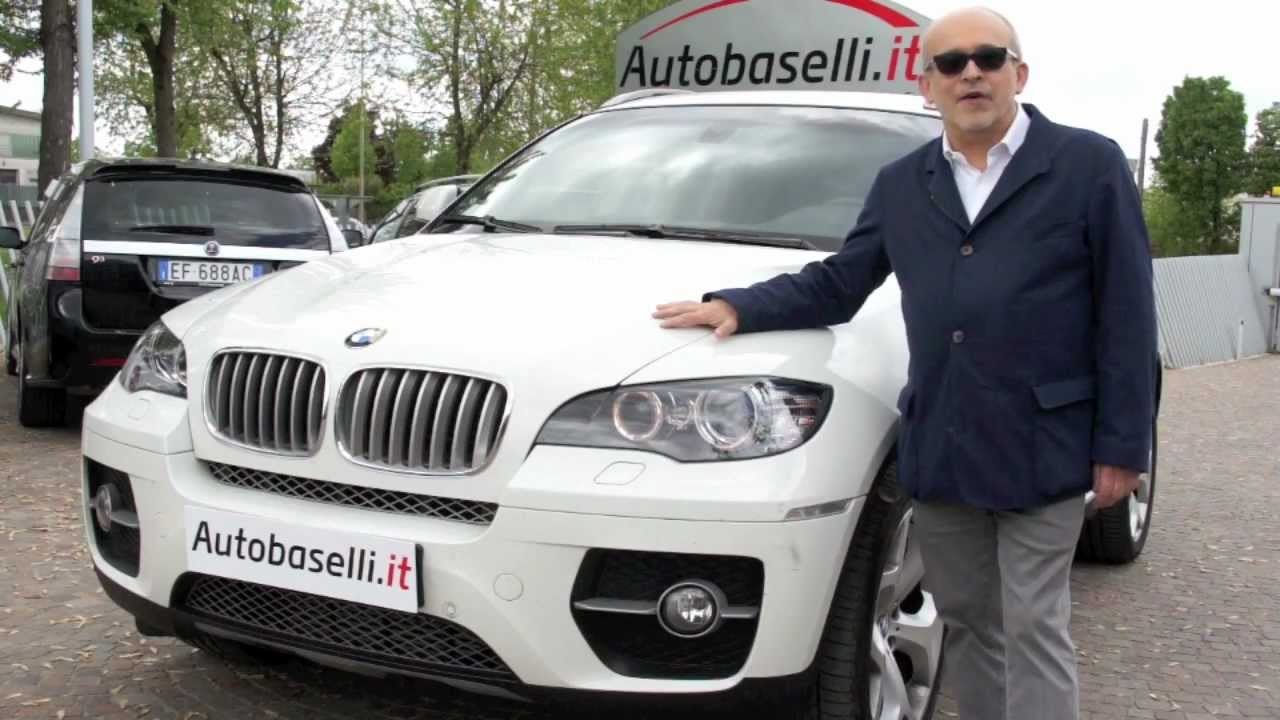 bmw x6 35d bianco autobaselli funnydog tv. Black Bedroom Furniture Sets. Home Design Ideas