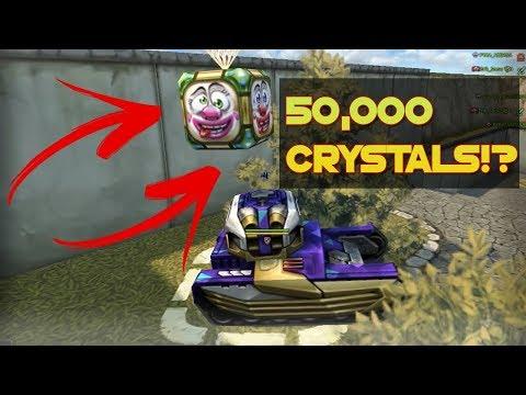 Tanki Online - April Fools Goldbox Montage (50,000 Crystals?!) 2020 | танки Онлайн