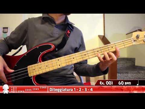 Download Youtube: Basso Elettrico - Dexterity - Esercizio 001
