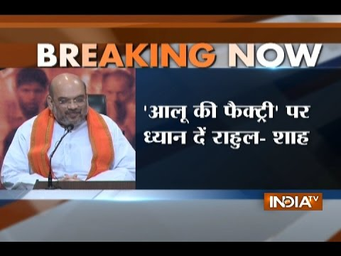 Day after Rahul Slams PM Modi, Amit Shah Condemns Politics over Surgical Strikes