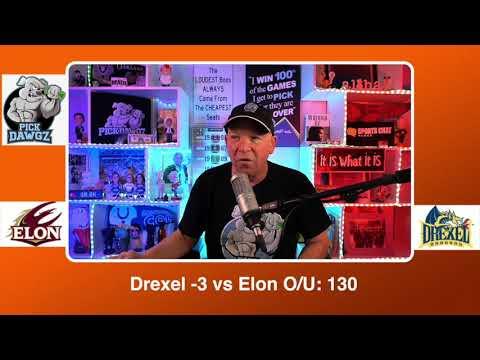 Drexel vs Elon 3/9/21 Free College Basketball Pick and Prediction CBB Betting Tips