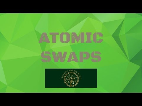 Cryptocurrency Education - Atomic Swaps
