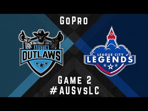 Austin Outlaws v League City Legends - GoPro - Game 2, 2017