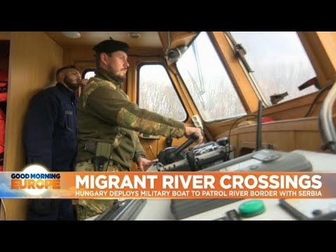 euronews (in English): Hungary launches armed river patrols to catch swimming migrants