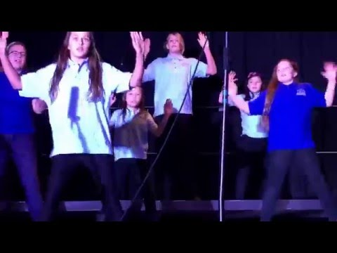 La Mesa Arts Academy Winter Concert Kayla's 4/5/6 Choir 12/16/2015 - On Top of the World