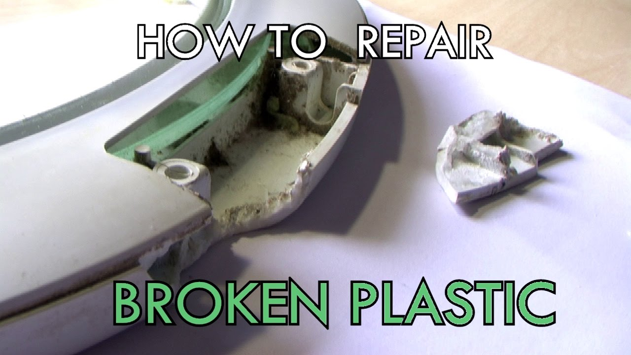 How To Repair Broken Plastic Easy And Fast Welding