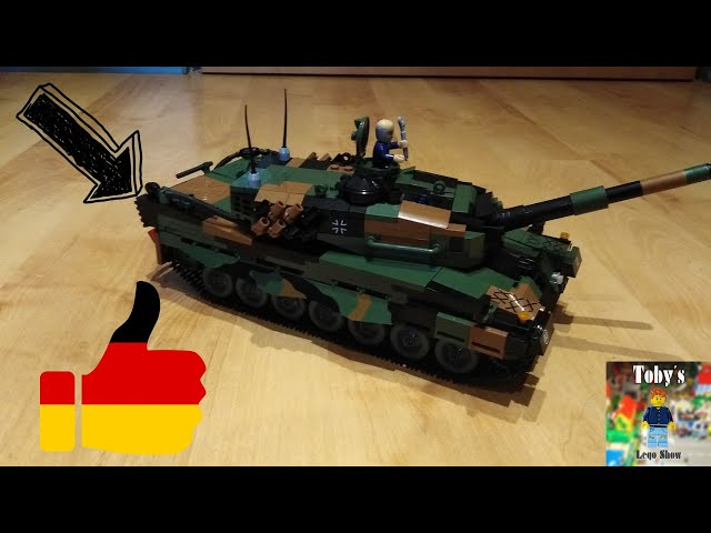 Cobi & Bundeswehr! - Cobi Leopard 2 A4 - Review