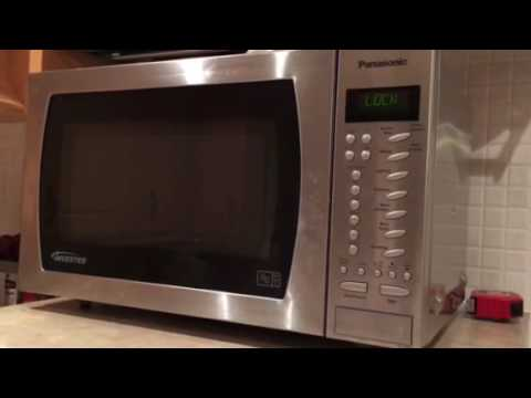 Panasonic Nn 479s Microwave How To Set And Reset Child Lock