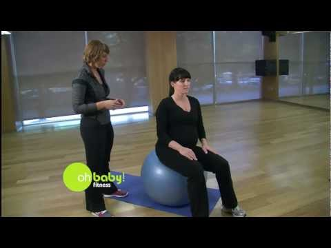 Oh Baby! Fitness - Stability Ball Exercise For Pregnancy
