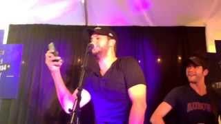 Luke Bryan Tailgate Blues Blossom music center VIP 8-22-14