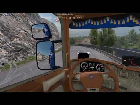 ETS2 Scania R520 Limoges - Montpellier