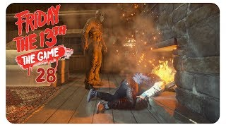 Tod im Kamin #28 Friday the 13th: The Game [deutsch] - Gameplay Together