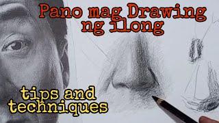 Pano mag Drawing ng ilong