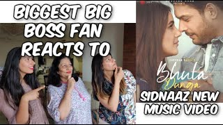Bhula Dunga - Darshan Raval | Official Video | Sidharth Shukla | Shehnaaz Gill | Reaction