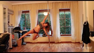 Vid 8: Spinning Pole Dance - some new tricks