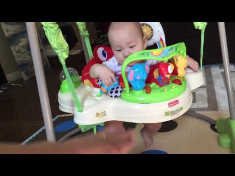 Fisher-Price Rainforest Jumperoo Review: He Loves it!!!!!!!!!