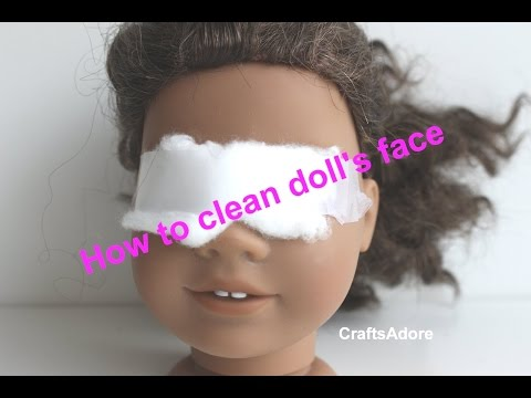 how-to-clean-american-girl-doll's-face-&-remove-stains-~hd~