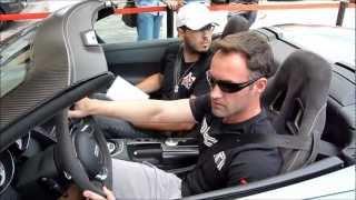 Test Drive Audi R8 Spyder Salão do Automóvel 2012