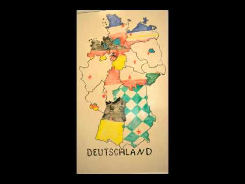 The German States and Capital Cities